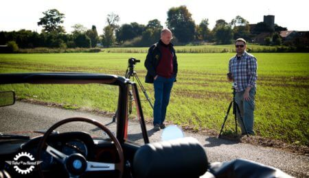 Niall Julian filming for Take to the Road