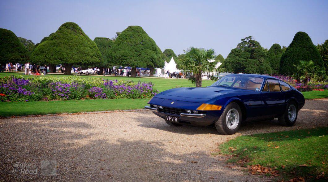 Ferrari Daytona parked
