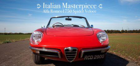 Italian Masterpiece Alfa Romeo Spider