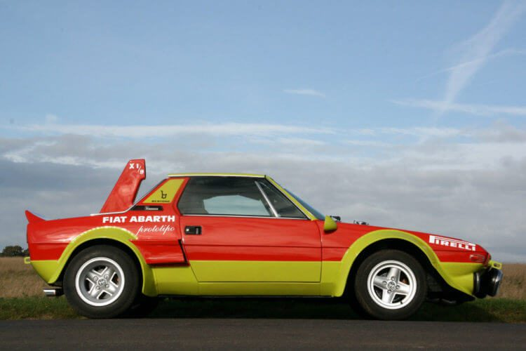 Fiat x19 Abarth side view