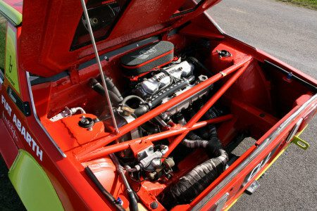 Fiat x19 Abarth engine bay