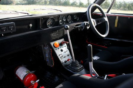 Fiat x19 Abarth interior shot