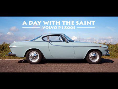 A Day with The Saint Volvo P1800S