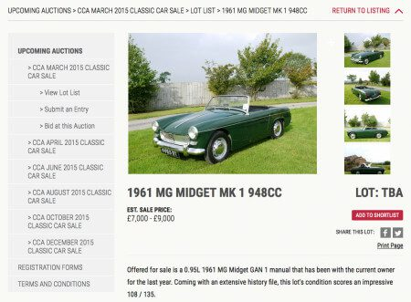 Take to the Road New kids on the old car auction block – Classic Car Auctions