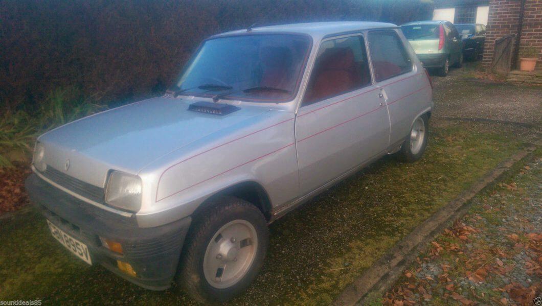 Take to the Road eBay Find 1980 Renault 5 Gordini