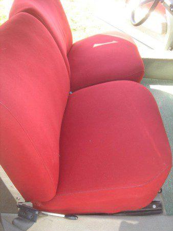1967 Citroen DS21 red seats