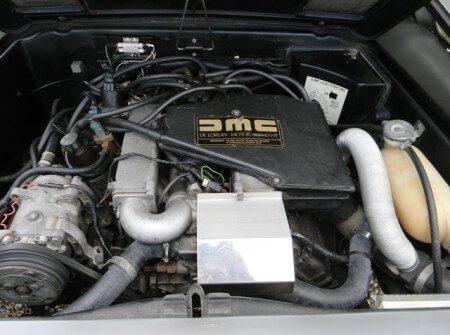 Delorean DMC-12 engine