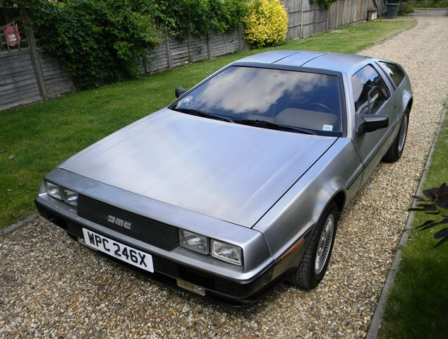 Auction Watch: 1982 DeLorean DMC-12
