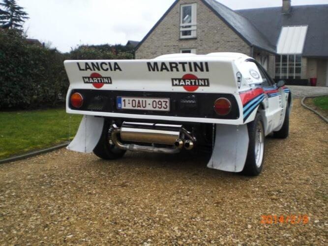 Lancia Rally 037 from behind