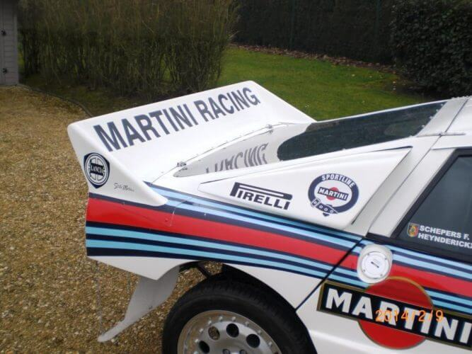 Lancia Rally 037 rear wing