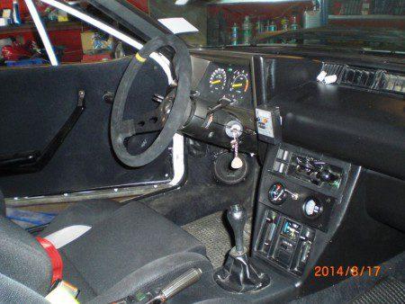 Lancia Rally 037 interior