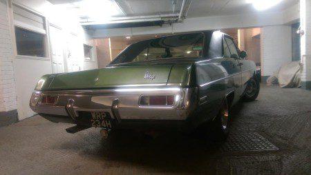 1970 Dodge Dart Swinger rear shot
