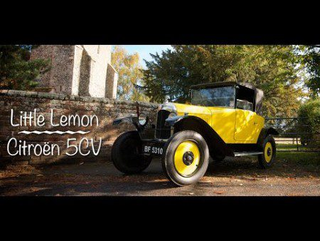 Little Lemon Citroen 5CV