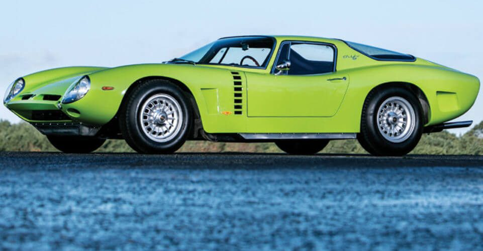 Side view of an Iso Grifo A3/C Stradale