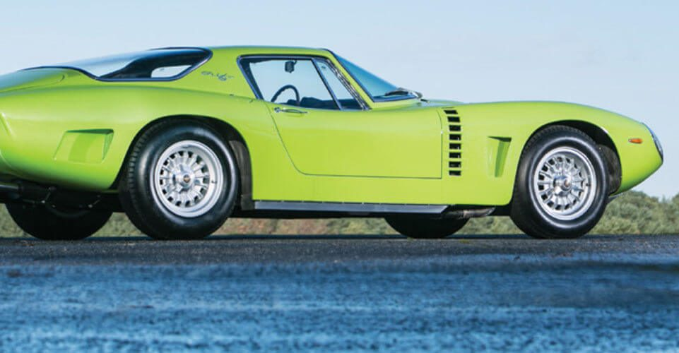 Another side view of an Iso Grifo A3/C Stradale