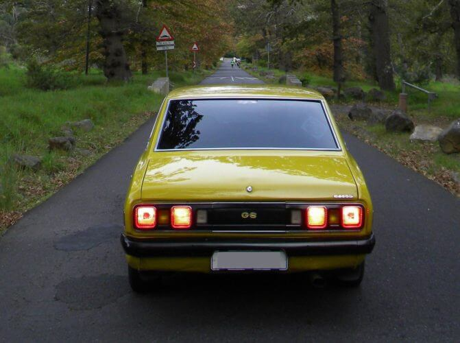 1973 Dodge Colt GS Coupe rear shot