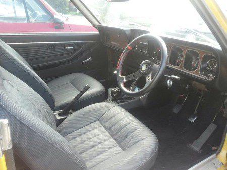 1973 Dodge Colt GS Coupe interior