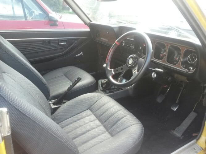 1973 Dodge Colt GS Coupe interior