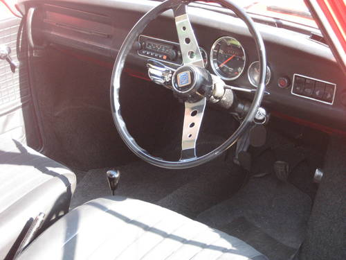 1969 NSU TT steering wheel and dashbaord