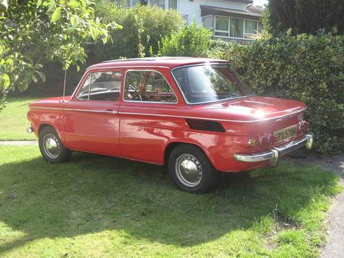 1969 NSU TT side shot