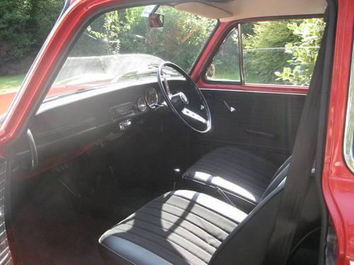 1969 NSU TT interior