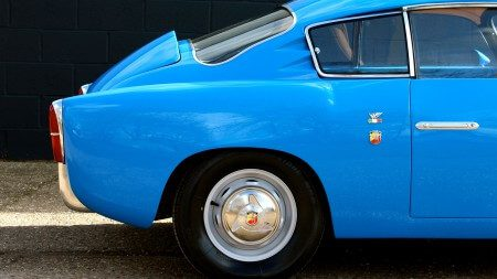 1959 Fiat 750 Gt Zagato rear side shot