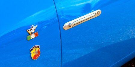 1959 Fiat 750 Gt Zagato door handle