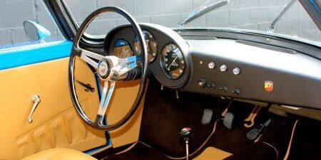 1959 Fiat 750 Gt Zagato dashboard