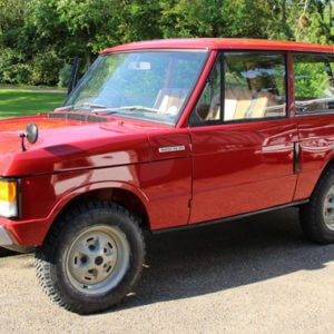 1970 Range Rover chassis no 26