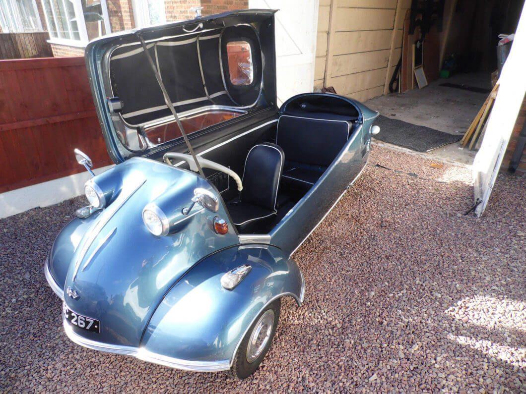 Ebay Find 1961 Messerschmitt Kr200 Cabriolet