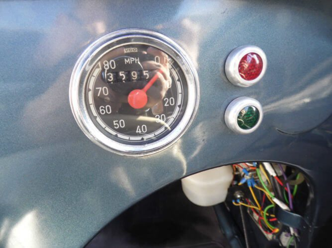 1961 Messerschmitt KR200 cabriolet dashboard