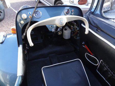 1961 Messerschmitt KR200 cabriolet interior