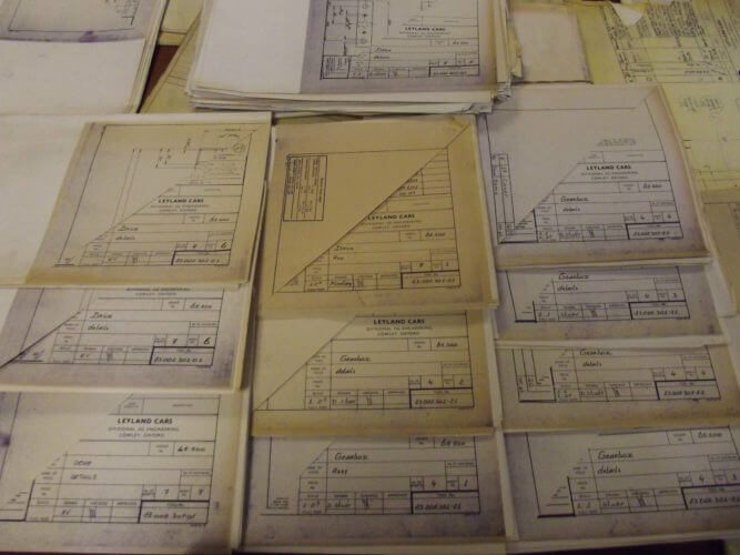 eBay Find Rover Metro development blueprints
