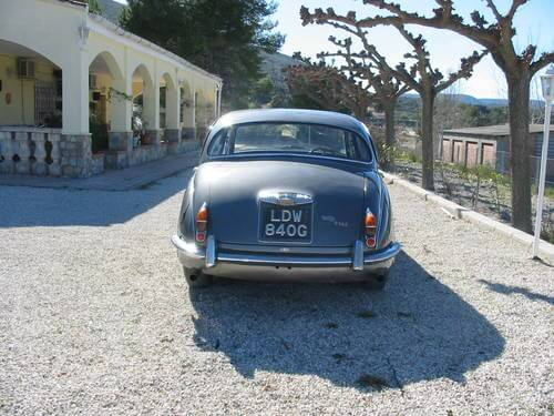 1968 Daimler V8 250 rear shot