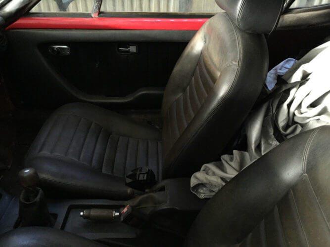 1975 Volkswagen SP2 seats