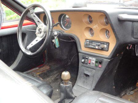 1975 Volkswagen SP2 dashboard