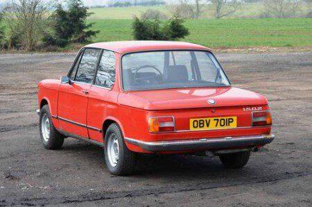 1975 BMW 1502 rear shot