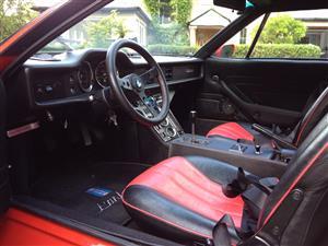 1974 De Tomaso Pantera interior