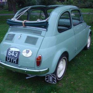 1957 Fiat 500 Vetri Fissi