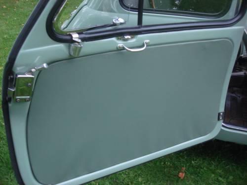 1957 Fiat 500 Vetri Fissi door