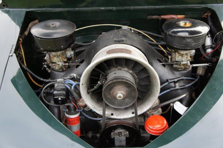 1952 Tatra T600 Tatraplan engine