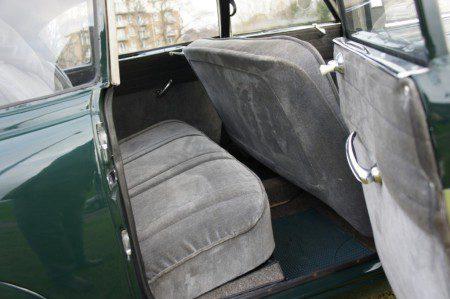 1952 Tatra T600 Tatraplan rear seats
