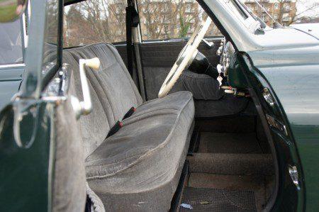 1952 Tatra T600 Tatraplan front seats