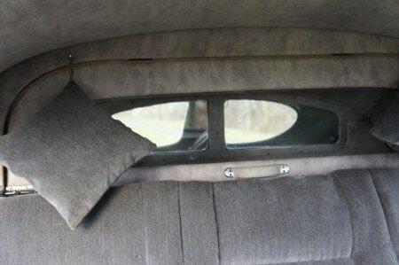 1952 Tatra T600 Tatraplan rear cushions