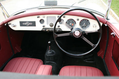 1958 MG MGA dashboard