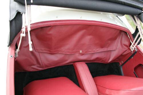 1958 MG MGA tonneau cover