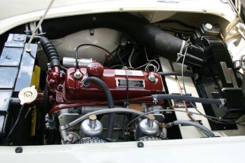1958 MG MGA engine