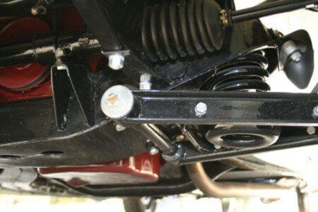 1958 MG MGA suspension