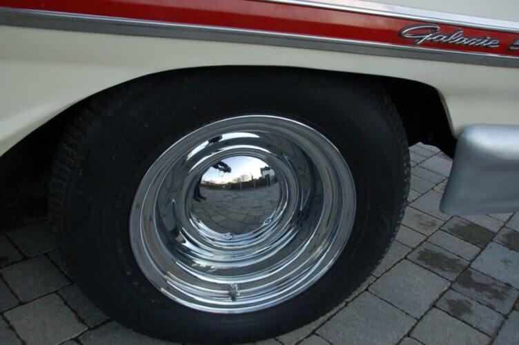 1964 Ford Galaxie 500 2 door fastback smoothie wheels