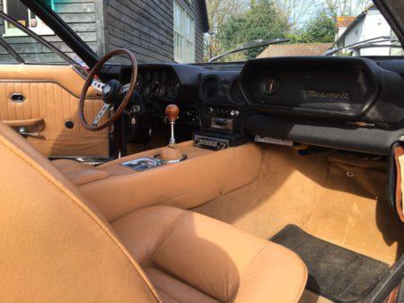 1970 Maserati Indy interior